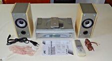 JVC FS-SD550R Kompakt Design Stereoanlage, FB&BDA, CD-R/RW Playback, Garantie