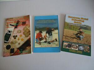 SET OF 3 METAL DETECTING BOOKS...