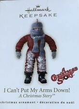 2007 Hallmark Collectible Ornament A Christmas Story I Can't Put My Arms Down