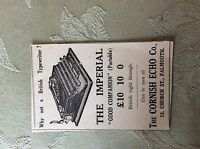a2i ephemera 1939 advert the imperial typewriter portable