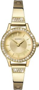 Sekonda Ladies Classic Watch with Gold Plated Bracelet 2565