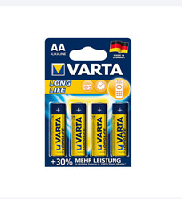 Varta Longlife Industrial High Energy 10-12-20-24-48er Box Variation