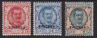 363 ** 1926 Eritrea - Soprastampati Colonia Eritrea n. 113/15. Cat. € 1250,00.