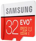 NEW Samsung 32GB Micro SD Card SDHC EVO+80MB/s UHS-I Class 10 TF Memory Card
