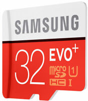 Samsung 32GB Micro SD Card SDHC EVO+ 80MB/s UHS-I Class 10 TF Memory Card HD 4K
