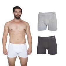 Unifarbene Herren-Boxershorts aus Baumwollmischung keine Mehrstückpackung