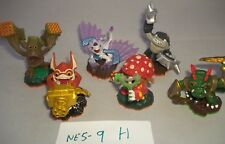 Skylanders Figure bundle - Giants Trigger Happy Shroomboom Flashwing Terrafin +1