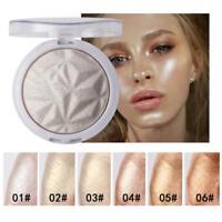 Shimmer Highlight Powder Palette Face body Contour Illuminator Makeup Highlight
