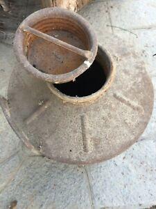 Bidone Contenitore Latte Vecchio Antico 50 L litri da ristrutturare