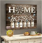 Custom Canvas Prints Personalized Names Gifts What We Love Most About Our Home