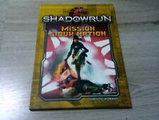 Shadowrun 5. Edition Mission Sioux Nation Abenteuer SC Pegasus Press 2018 Neu