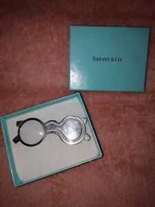 Vintage Tiffany & Co Bookmark &  Magnifying Glass