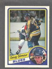 1984-85 OPC O-Pee-Chee Hockey Doug Gilmour Rookie #185 St Louis Blues NM/MT
