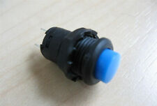Blue Push Button Toggle Switch 12 On Off Latching 3a 125vac 03a 12vdc E35ad