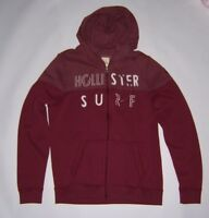 Hollister by Abercrombie Mens Colorblock logo Zip Hoodie Jacket Various Size NWT