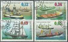 Timbres Bateaux Bulgarie 3951/4 o lot 8721