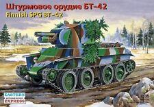 EASTERN EXPRESS 35116 FINNISH SELF-PROPELLED GUN SPG BT-42  MODEL KIT 1/35 NEW