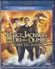 Blu-ray + Dvd «PERCY JACKSON E GLI DEI DELL'OLIMPO ♦ IL MARE DEI MOSTRI» 2013