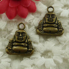 free ship 96 pieces bronze plated the Buddha charms 20x16mm #3082