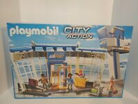 Playmobil 5338 Airport with Control Tower - New Factory Sealed, Retired Set