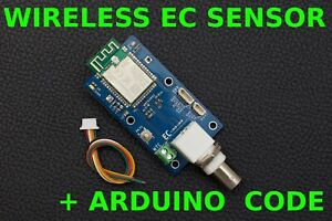 Wireless Water Quality sensor EC Electrical Conductivity Meter Arduino Compatibl