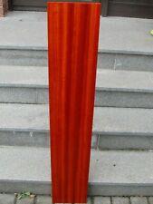Padouk Brett 116,5 x 21,3 x 2,5 cm korallenrotes Holz Tonholz