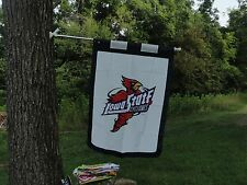 IOWA STATE UNIVERSITY HOUSE FLAG, SUPERSIZE Embroidered by Evergreen
