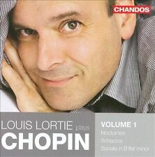 Louis Lortie plays Chopin, Vol. 1 - Nocturnes , Scherzos, Sonata No. 2, New Musi