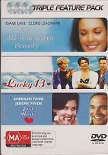 MISS ALL AMERICAN BEAUTY - LUCKY 13 - JUST WRITE - 3 DVD's BOX SET - NEW -