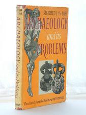 Sigfried J De Laet - Archaeology 1st Ed 1957 HB DJ