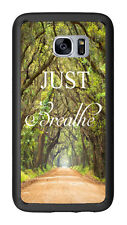 Outdoor Walkway Just Breathe For Samsung Galaxy S7 G930 Case Cover by Atomic Mar