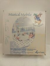 "*New 2001 Luv N' Care Beatrix Potter Musical ""Peter Rabbit Mobile"