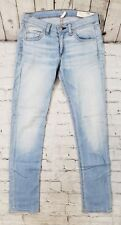 Rag & Bone Jean Blue Light Wash Capri Leg Jeans Women's Size 31