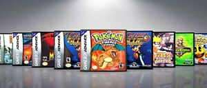 Custom Covers and Cases for Gameboy Advanced GBA: Titles M-P. NO GAMES!!!