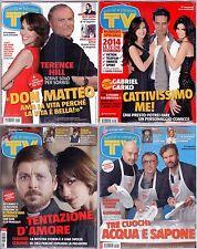 TV Sorrisi e Canzoni - Lotto nr. 1-2-3-4 Anno 2014  - Blisterati da abbonamento