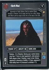 Star Wars CCG Tatooine Darth Maul
