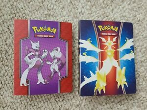 Pokemon Mini Binder Album 30 Pages Holds 60 Trading Cards Two Binders NO CARDS