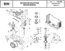 ROLLEI Repair Manual B35 compact 35mm film camera SERVICE MANUAL & PARTS + on CD