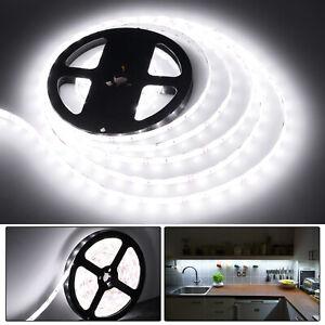 WHITE 4M LED Light Strip Tape XMAS Cabinet Kitchen Lighting WATERPROOF USB 5V