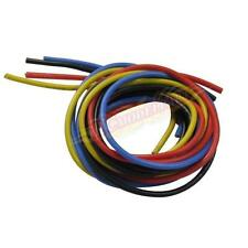 14# Gauge Silicone Wire 400cm 14 AWG Flexible Silicone Wire 4 color each 1 meter