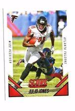 Julio Jones 2015 Panini Score, Football Card