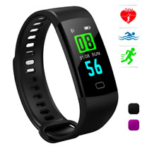 Fitness Tracker with Heart Rate Monitor Color Screen Activity Ip67 Waterproof