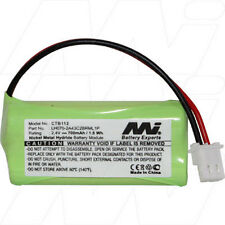 CTB112 2.4V NiMH Cordless Phone Battery