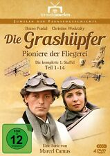 Die Grashüpfer - Pioniere der Fliegerei - Staffel 1 (Alle 14 Teile) [4 DVDs]