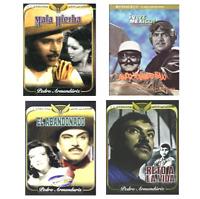 4 Different Spanish DVD's featuring PEDRO ARMENDARIZ * New and Sealed Peliculas
