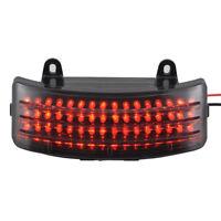 Smoke Tri-Bar LED Fender Tip Tail Light For Harley Road/Street Glide FLHX FLTR