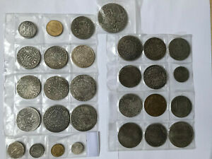 Coin Collection, Taler, Thaler, gold coins - 29 Items