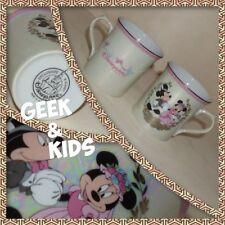 Lot de 2 Mugs - Disneyland Paris - Nacrés - Mickey Minnie mariés - Rare - Ref M2