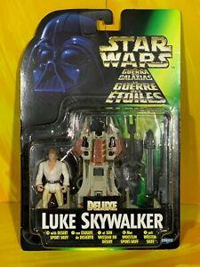 Star Wars - Power of the Force - Deluxe Luke Skywalker with Desert Sport Skiff