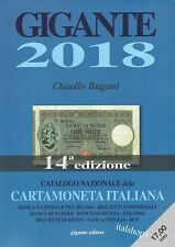 IL CATALOGO GIGANTE CARTAMONETA ITALIANA 2018 NUOVO